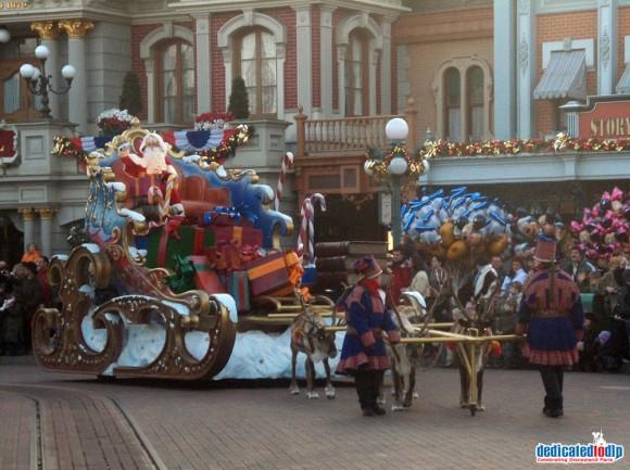 Christmas Eve 2005 in Disneyland Paris