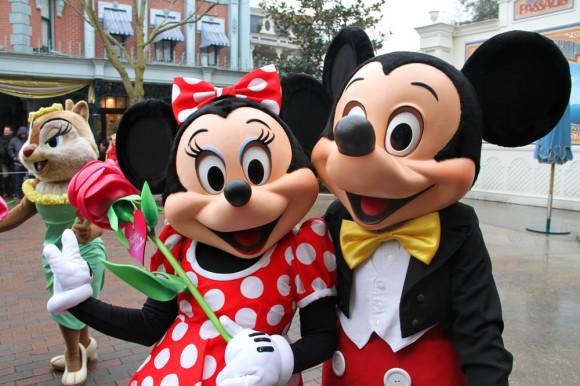 St Valentin 2013 in Disneyland Paris, Minnie & Mickey