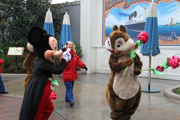 St Valentin 2013 in Disneyland Paris, Mickey & Chip