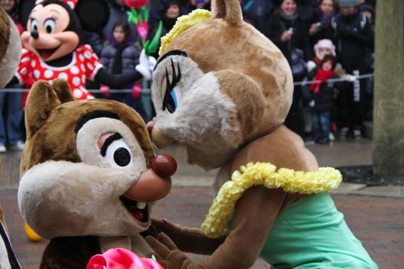 St Valentin 2013 in Disneyland Paris, Chip & Clarice