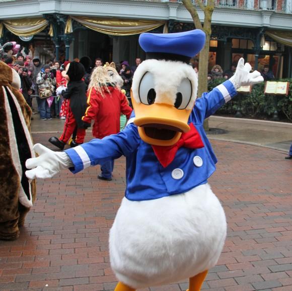 St Valentin 2013 in Disneyland Paris, Donald Duck