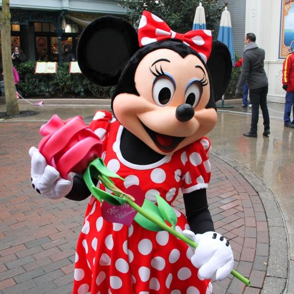 St Valentin 2013 in Disneyland Paris, Minnie Mouse