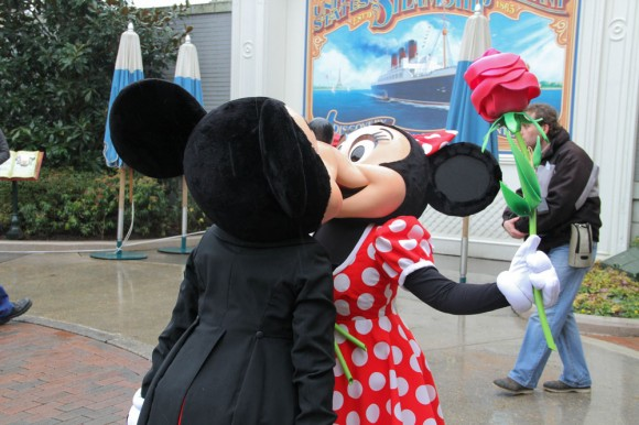 St Valentin 2013 in Disneyland Paris, Mickey & Minnie Mouse