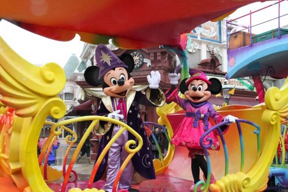 St Valentin 2013 in Disneyland Paris, Celebration Train