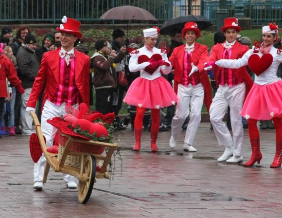 St Valentin 2013 in Disneyland Paris, Valentine Cavalcade