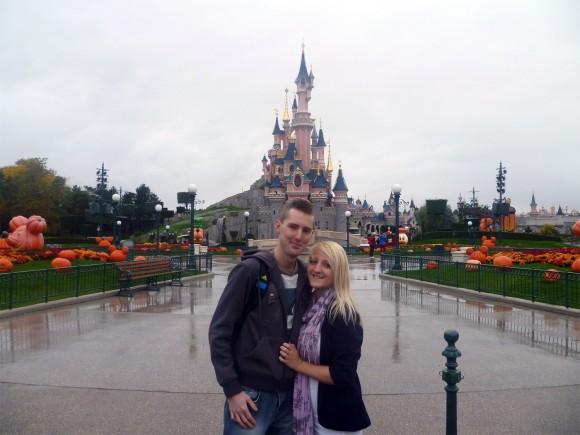 Nick & Ali in Disneyland Paris