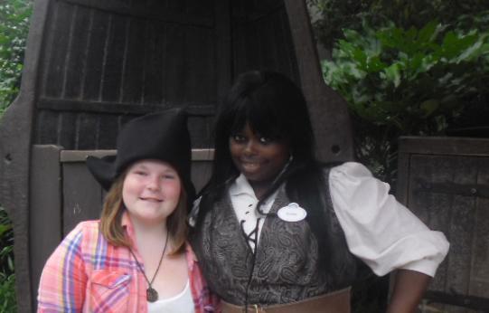 Nikola at Pirates of the Caribbean