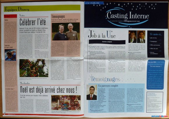 Disneyland Resort Paris Tribune Pages 4 & 5