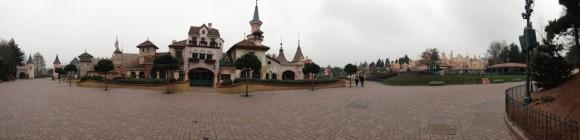 Panorma Photo of Fantasyland in Disneyland Paris