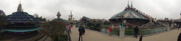 Panorma Photo of Discoveryland in Disneyland Paris