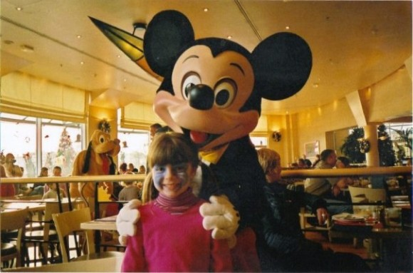 Ella in Disneyland Paris