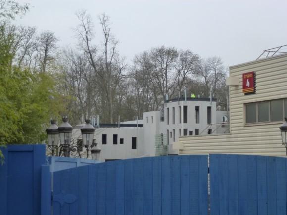 Ratatouille Construction in Disneyland Paris