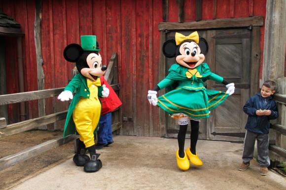 St. Patrick's Day 2013 in Disneyland Paris