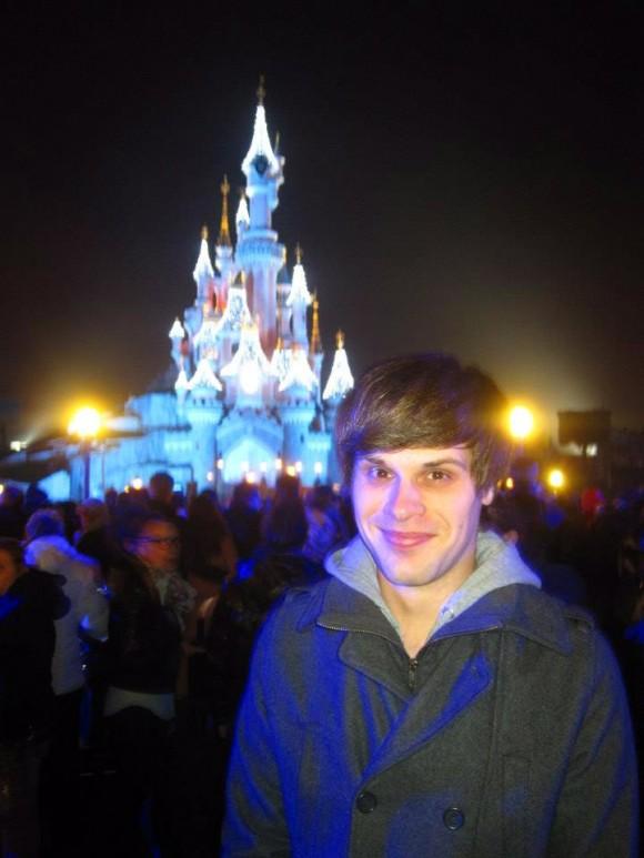 Tim in Disneyland Paris