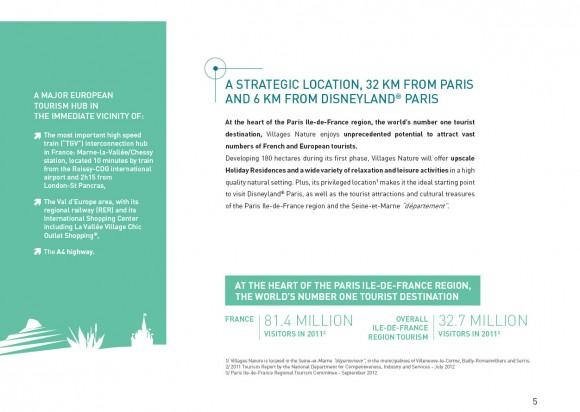 Disneyland Paris Villages Nature Brochure