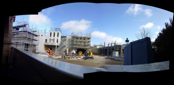Ratatouille Construction Update From Disneyland Paris