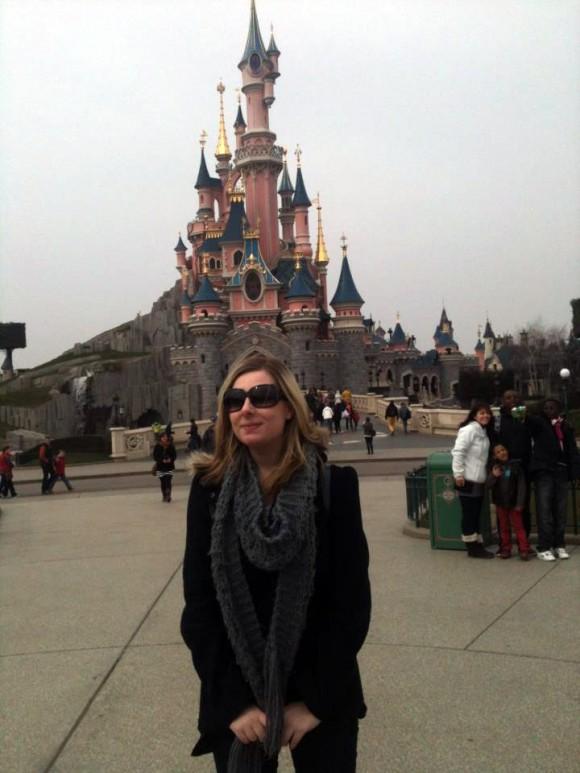 Becca in Disneyland Paris