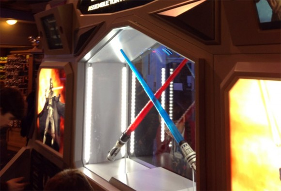 Star Wars Build Your Own Lightsaber in Disneyland Paris