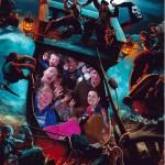 Pirates of the Caribbean Photo Using Disney PhotoPass in Disneyland Paris