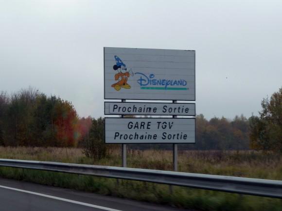 Disneyland Paris Trip Report May 2013: Driving There