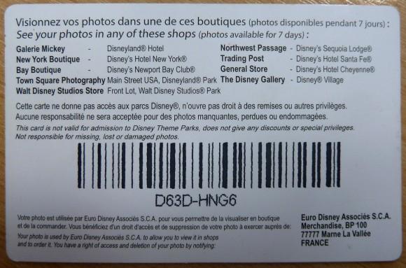 Disney PhotoPass in Disneyland Paris