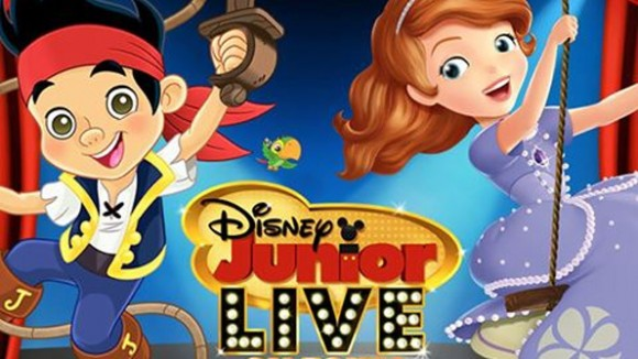 Jake from The Neverland Pirates & Sofia The First Coming to Disneyland Paris