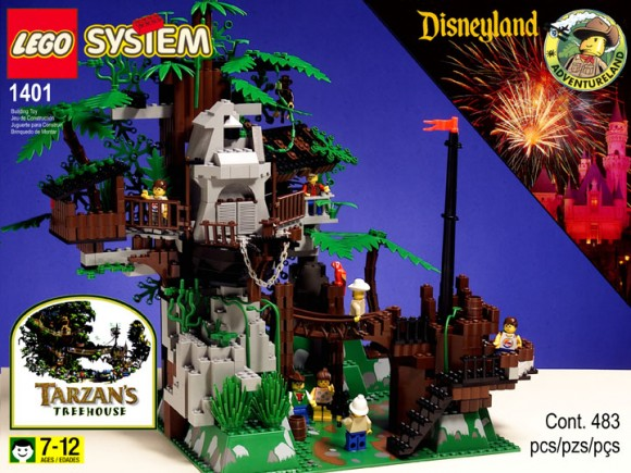 Fake LEGO Treehouse Box