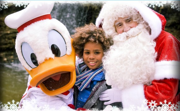 Meet Santa & Other Characters in Disneyland Paris for Christmas