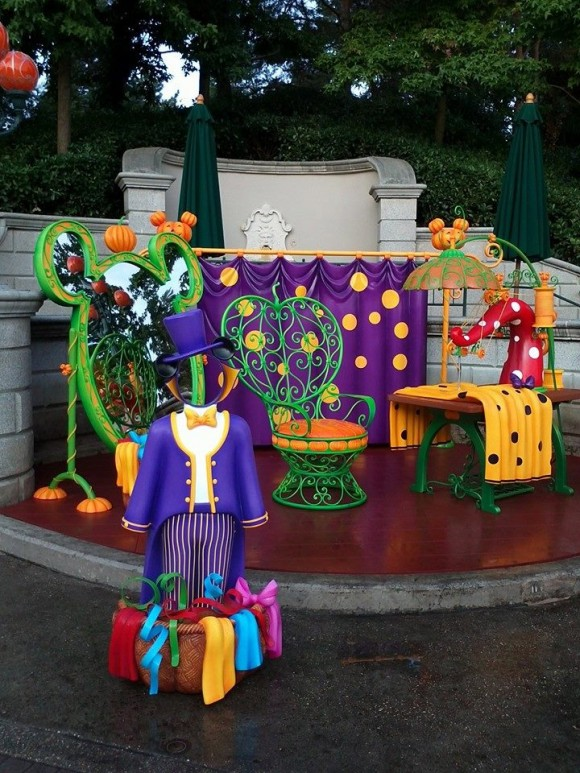 Minnie's Costume Couture in Disneyland Paris for Halloween 2013