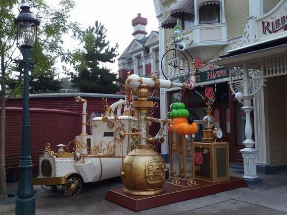 Goofy's Crazy Sweet Factory in Disneyland Paris for Halloween 2013