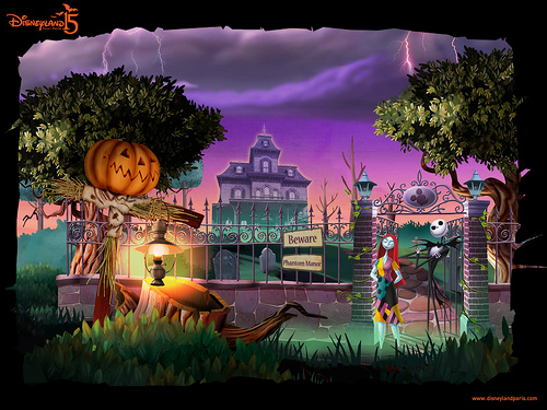Disneyland Paris Halloween 2007 Phantom Manor