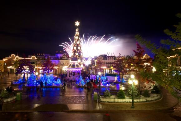 Christmas 2012 in Disneyland Paris. Photo by Kris Van de Sande