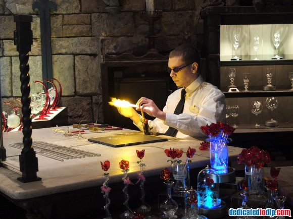 Glass Molding Inside Merlin l'Enchanteur, Disneyland Paris