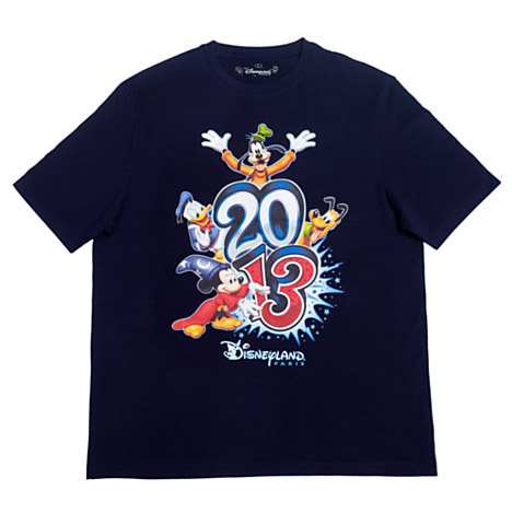 Disneyland Paris 2013 Logo Men's T-Shirt