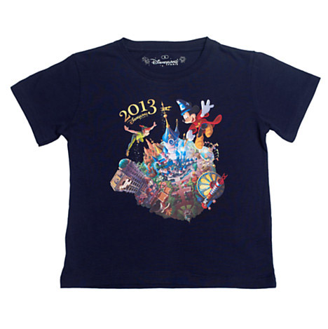 Disneyland Paris 2013 Blue T-Shirt For Kids