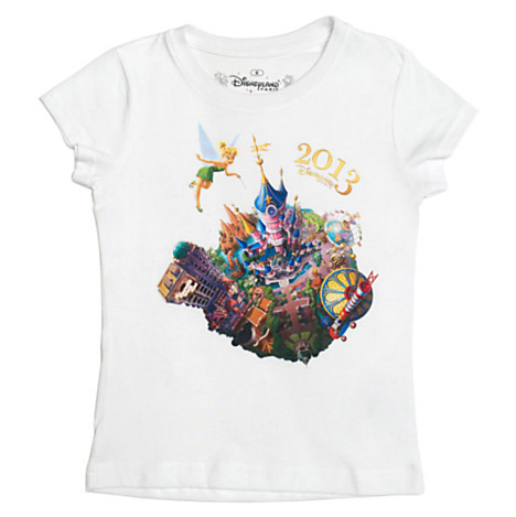 Disneyland Paris 2013 White T-Shirt For Kids