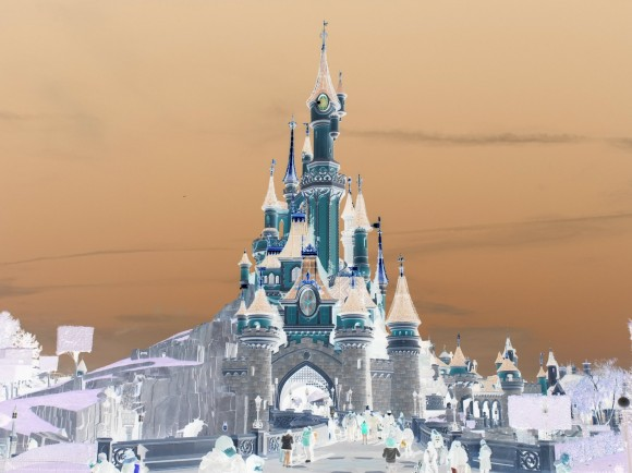 Disneyland Paris Photo Friday: Over The Top Effects. Castle