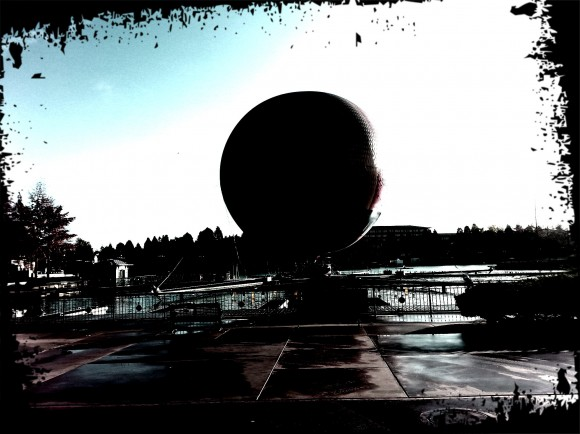 Disneyland Paris Photo Friday: Over The Top Effects. Panoramagique