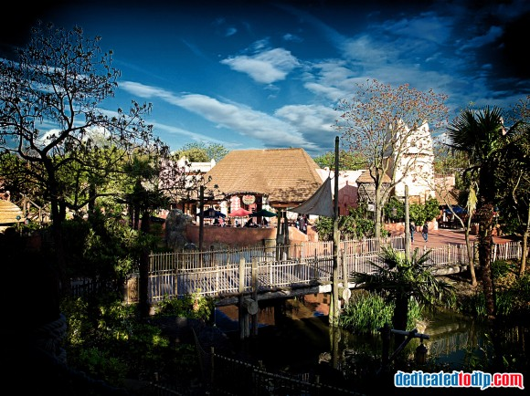 Disneyland Paris Photo Friday: High Dynamic Range Resort
