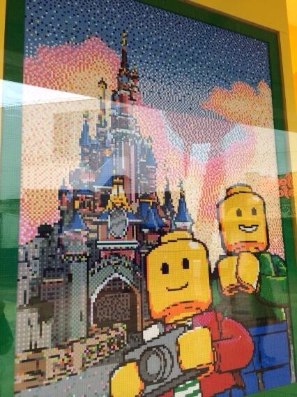The LEGO Store in Disneyland Paris