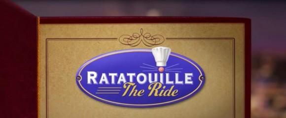 Ratatouille The Ride Logo in Disneyland Paris