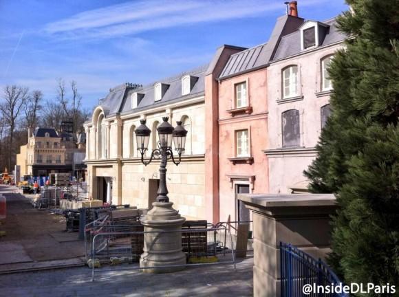 Ratatouille Development in Disneyland Paris