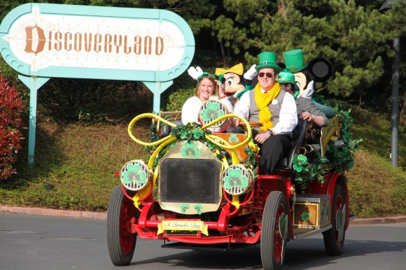 Disneyland Paris Photos: St Patrick's Day 2014