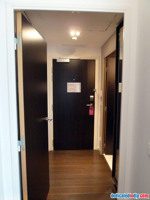 The Inside Door of Studio at Hipark Serris-Val d'Europe