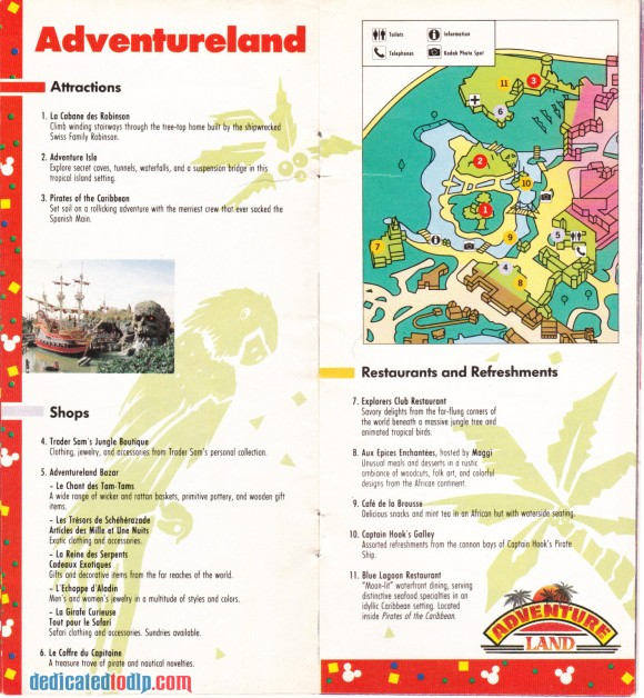 A Very Early Euro Disneyland Resort Guide, Adventureland