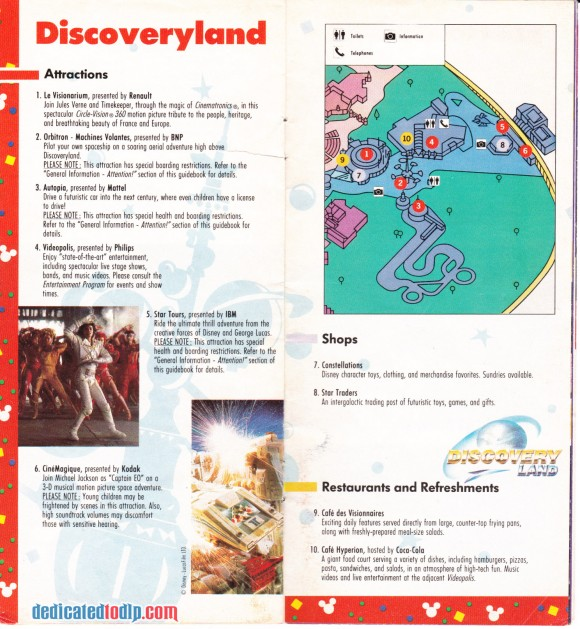 A Very Early Euro Disneyland Resort Guide, Discoveryland