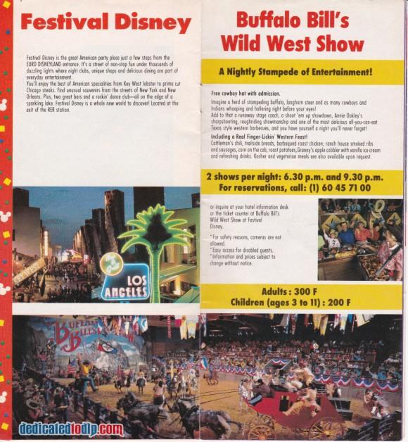 A Very Early Euro Disneyland Resort Guide, Festival Disney