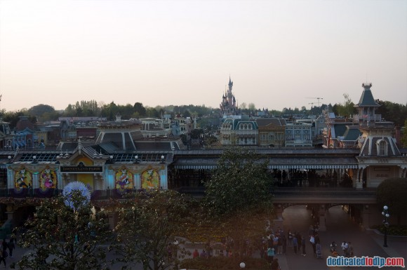 Disneyland Paris Photo Friday. Swing into Spring:  View From Disneyland Hotel