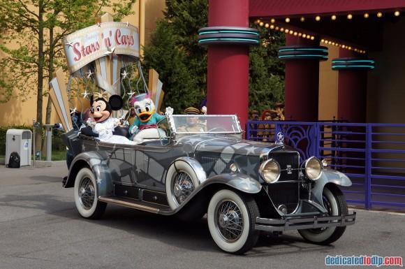 Disneyland Paris Photo Friday. Swing into Spring:  Stars n Cars Parade