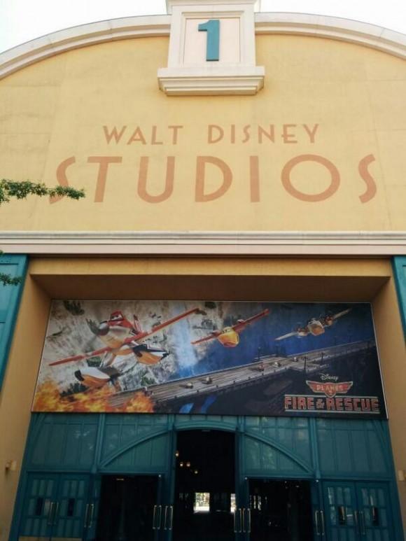 Planes 2 Billboard in Walt Disney Studios, Disneyland Paris